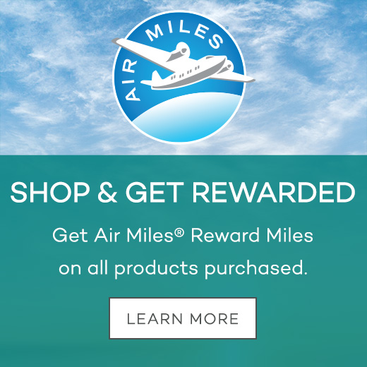 Shop & Get Rewarded - Get Air Miles® Reward Miles on all products purchased at Vending Products of Canada.